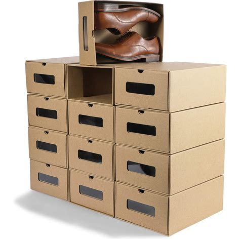 Sneaker Box Storage Diy With Jars